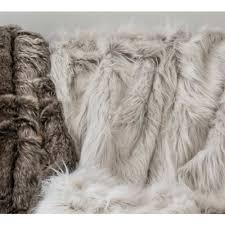 white faux fur throw. Unique Faux Inside White Faux Fur Throw B