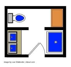 Small Picture Best 25 Small bathroom floor plans ideas on Pinterest Small