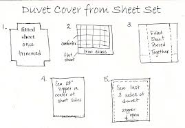 duvet cover from clearance sheet set