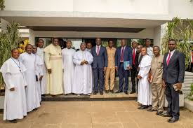 """Godwin Obaseki (GGO) on Twitter: """"I appreciate the role of religious bodies  in ensuring peaceful coexistence in our society,the state & religious  bodies must work in harmony.… https://t.co/GvyDaB4nkl"""""""