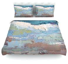 schiff surf dreams blue teal duvet cover cotton queen contemporaryblue and green striped lime covers