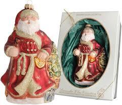 Krebs Glas Lauscha Christbaumschmuck Weihnachtsmann Mit Baum 1 Tlg Mundgeblasen Online Kaufen Otto
