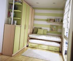 Small Picture Small Teen Room Ideas Design 03 Green Colored Wall Stripes and