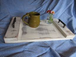 rectangle farmhouse serving tray with