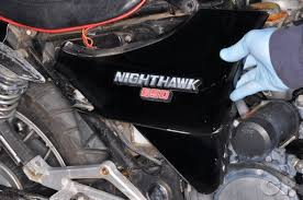 1983 1985 honda cb550 cb650sc nighthawk online service manual remove the side covers in order to access the air filter box