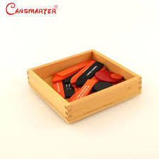 Reading Analysis 2nd Chart Box Montessori Materials Wooden Educational Toys