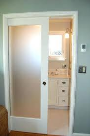opaque glass sliding doors frosted pocket with bathroom door exterior