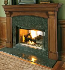 fabulous fireplace mantel with wooden design