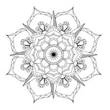 Mandala Coloring Pages Online Book Best Ideas On Free Mystical