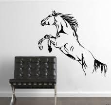 Skákajúci Kôň Nálepka Na Stenu Xdecorsk