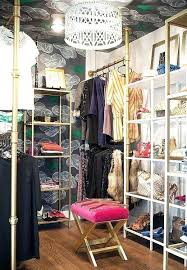 closet turned into bedroom. Room Turned Into Closet Turn Walk In Glam Small Bedroom O