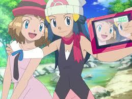 Pokemon Dawn and Serena | Pokemon, Pokemon eevee, Pokemon characters