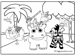 Small Picture Coloring Pages Animals Rainforest Coloring Pages