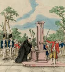 images of the french revolution released online french revolution digital archive mr guillotin proposing his machine to the national assembly for executions 1791
