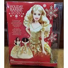 Búp bê Barbie Holiday 2020 - Mỹ (Hàng thật mới 100%)