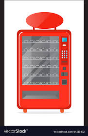 Modern Vending Machine Amazing Modern Vending Machine Icon Royalty Free Vector Image