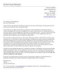 Palanca Letter Example Resume Cover Letter Template With Regard