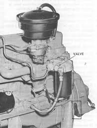 installing a pcv system in your 216 235 261 engine here are two pages from the gmc manual that show that in 1954 gm actually made a stock pcv system for the 235 from personal experience i know that the