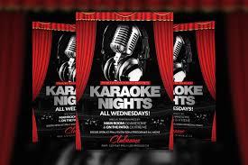 Karaoke Night Flyer Template Karaoke Nights Flyer Template Flyer Template Karaoke And Template 8