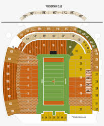 Mccombs Field Seating Chart Darrell Royal Stadium Seating Chart Seat Numbers Also