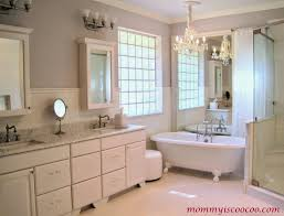 Large Bathroom Remodelaholic How To Remove And Reuse A Large Builder Grade Mirror