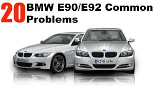 BMW Convertible bmw e90 330i problems : 20 MOST COMMON BMW E90/E92 Problems! - YouTube