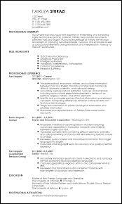 Free Professional Translator Resume Templates Resumenow