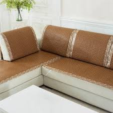 cool couch slipcovers. High Quality Sofa Cover Plaid Slipcover Summer Cooling Couch Rattan Chair Seat Dustproof Cool Slipcovers W