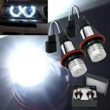 [US$18.28] <b>Pair LED Car</b> White DRL & Amber Turn Signal Lamp ...