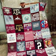 Texas T-Shirt Quilt Company - Project Repat Texas T Shirt Blankets & Give Your T-Shirts New Life with Texas T-Shirt Quilts by Project Repat Adamdwight.com