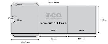 Cd Case Label Template Snapwit Co
