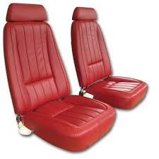 1969 corvette leather seat covers