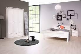 3 Tlg Schlafzimmer In Weiß Im Landhausstil Kaufen Bei