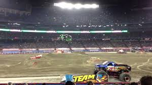 Monster Jam Atlanta Seating Chart Monster Jam Grave Digger Freestyle At Rogers Centre Toronto 2013