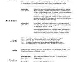 breakupus remarkable best resume examples for your job search breakupus luxury able resume templates resume format cool goldfish bowl and inspiring stock resume