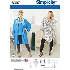 Tunic Top Patterns Amazing Amazon Simplicity Creative Patterns US48FF Plus Size Tunic