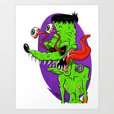 Frankie Fink Art Print by katruiz   Society6