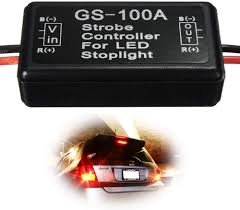 Brake Light Flasher For Car Ijdmtoy 1 12v Gs 100a Led Brake Stop Light Strobe Flash Module Controller Box For Car Truck 3rd Brake Or High Mount Clearance Lamp
