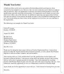 15 Thank You Letter For Student Teacher Resume Cover