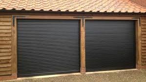dark brown ral 8019 diy roller shutter garage door