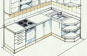 kitchen decoration medium size basic l shaped kitchen plan plans modern styles cabinet white layout