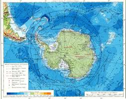 доклад Антарктида Карта Антарктиды