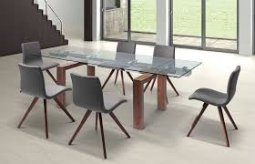 modern glass conference table modern glass conference table with solid wood legs extends from 63