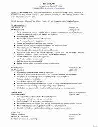 Accounts Resume Samples Accounting Resume Template Elegant Accounting Resume Samples Canada 21