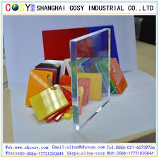 customized plexiglass wall panel with colorful cast acrylic sheet