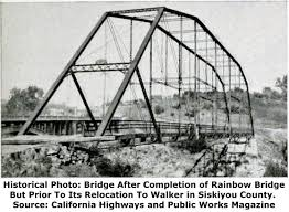 this bridge is historically and technologically significant for several reasons it is a rare example of a pin connected truss bridge exhibiting the