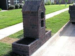 Mailbox Design Ideas Brick Mailbox Designs Ideas Modern Mailbox