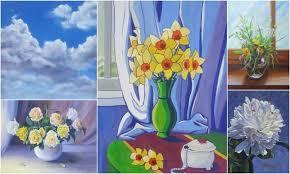 Школа рисования онлайн Марины Трушниковой школа живописи онлайн он лайн живопись