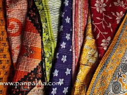 bohemian umbrellas | Handmade indian kantha quilts | Catches My ... & bohemian umbrellas | Handmade indian kantha quilts Adamdwight.com