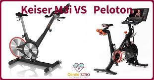 keiser m3i vs peloton which is better